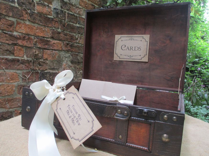 Version Wedding Card Holder Suitcase Post Box Large – Post Boxes for Wedding Cards